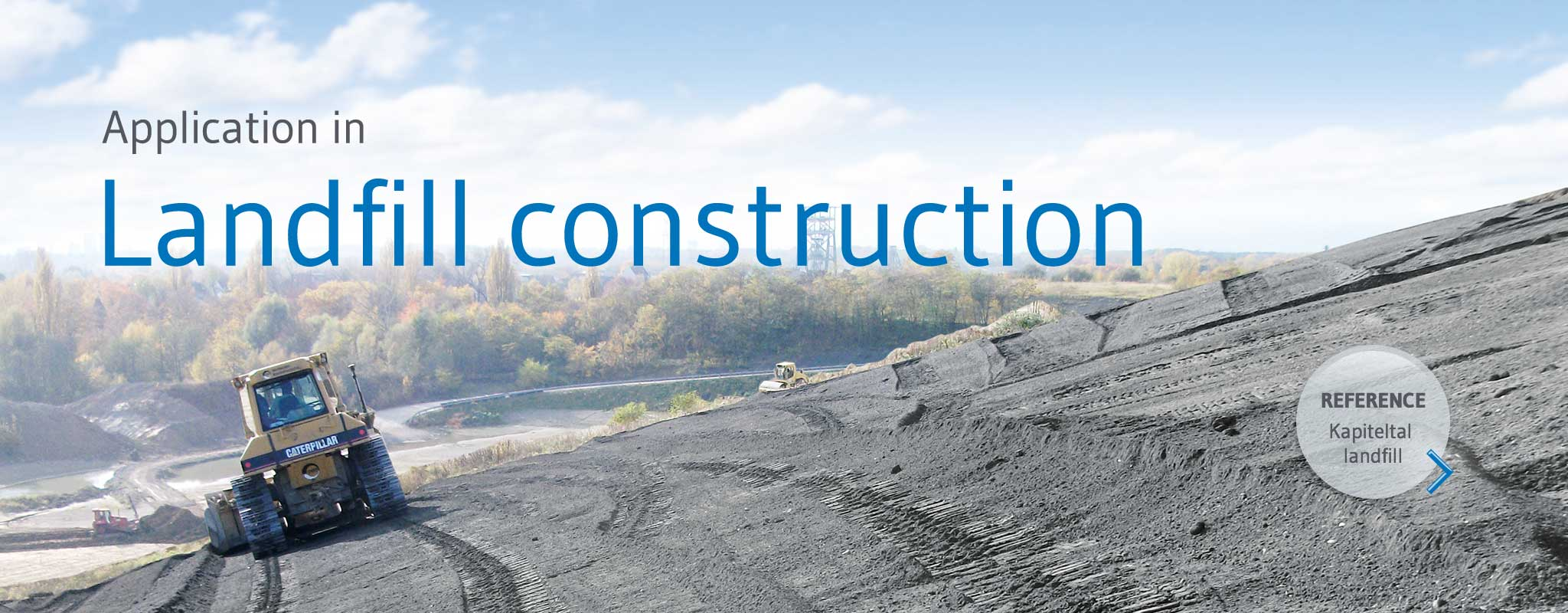 Secondary construction material granova® for construction of landfill sites