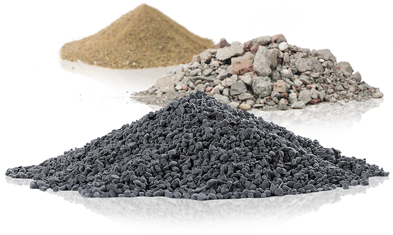 IBA aggregates amend the natural aggregate sources