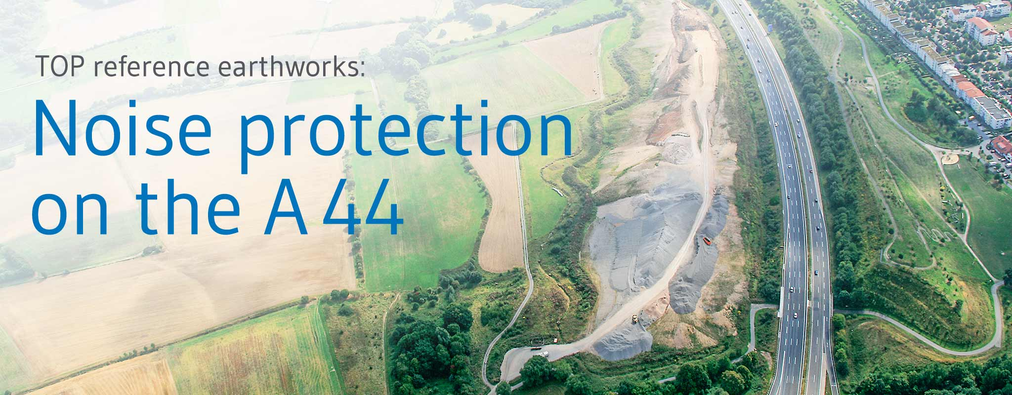Secondary aggregates in embankments: Noise protection measure at Kassel with IBA
