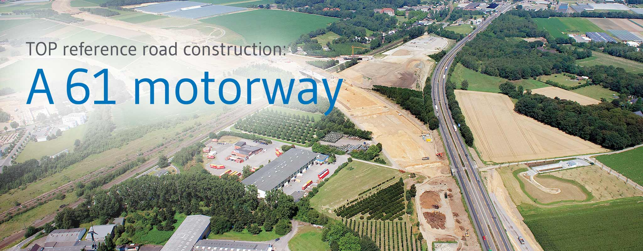 A 61 motorway: Execution with IBA as substitute construction material in the road substructure