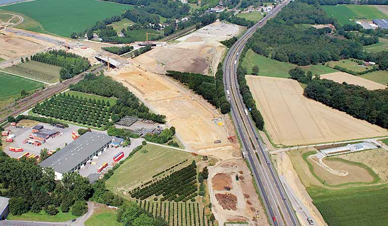 IBA used as secondary aggregates for the A 61 construction between Venlo and Kaldenkirchen